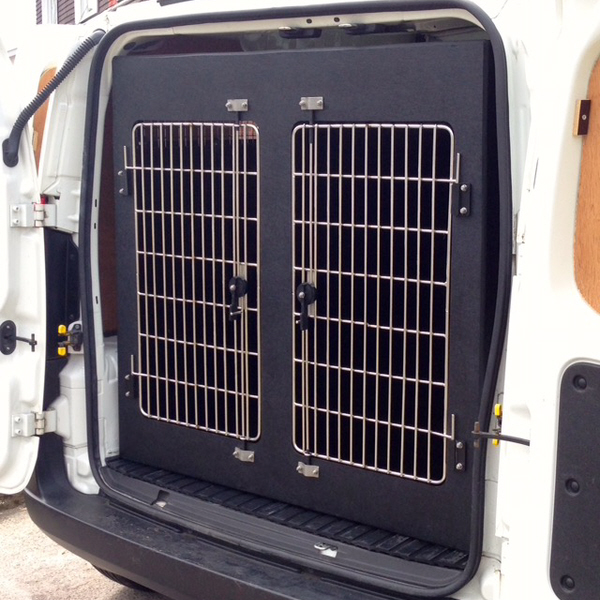 Peugeot Bipper 3 Compartment Dog Van Conversion
